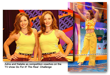 Fitness Twins - Adria and Natalie on Go For It TV